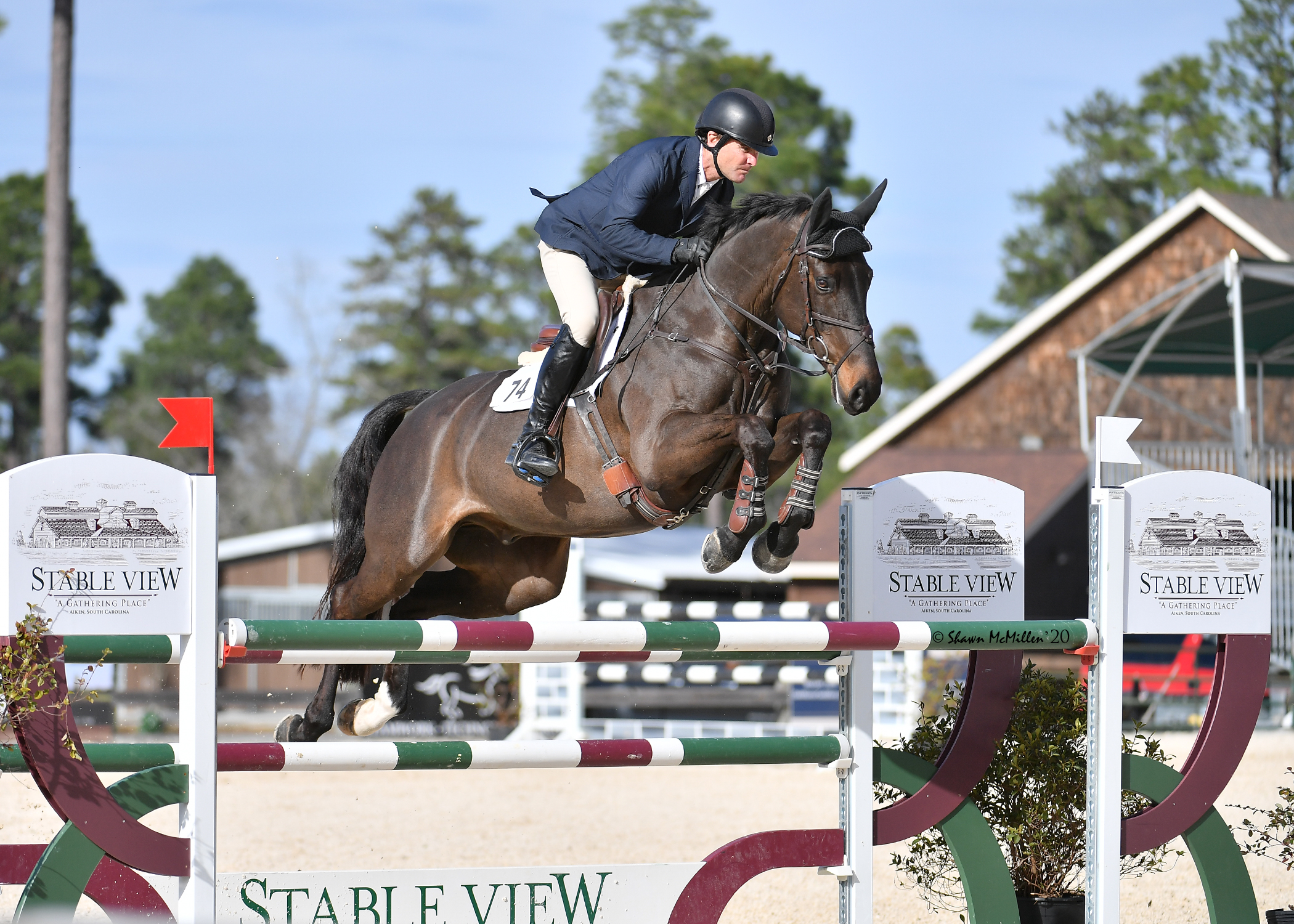 Stable View Hunter Jumpers